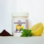 Creme anti-cellulite - caffeine, citron, menthe