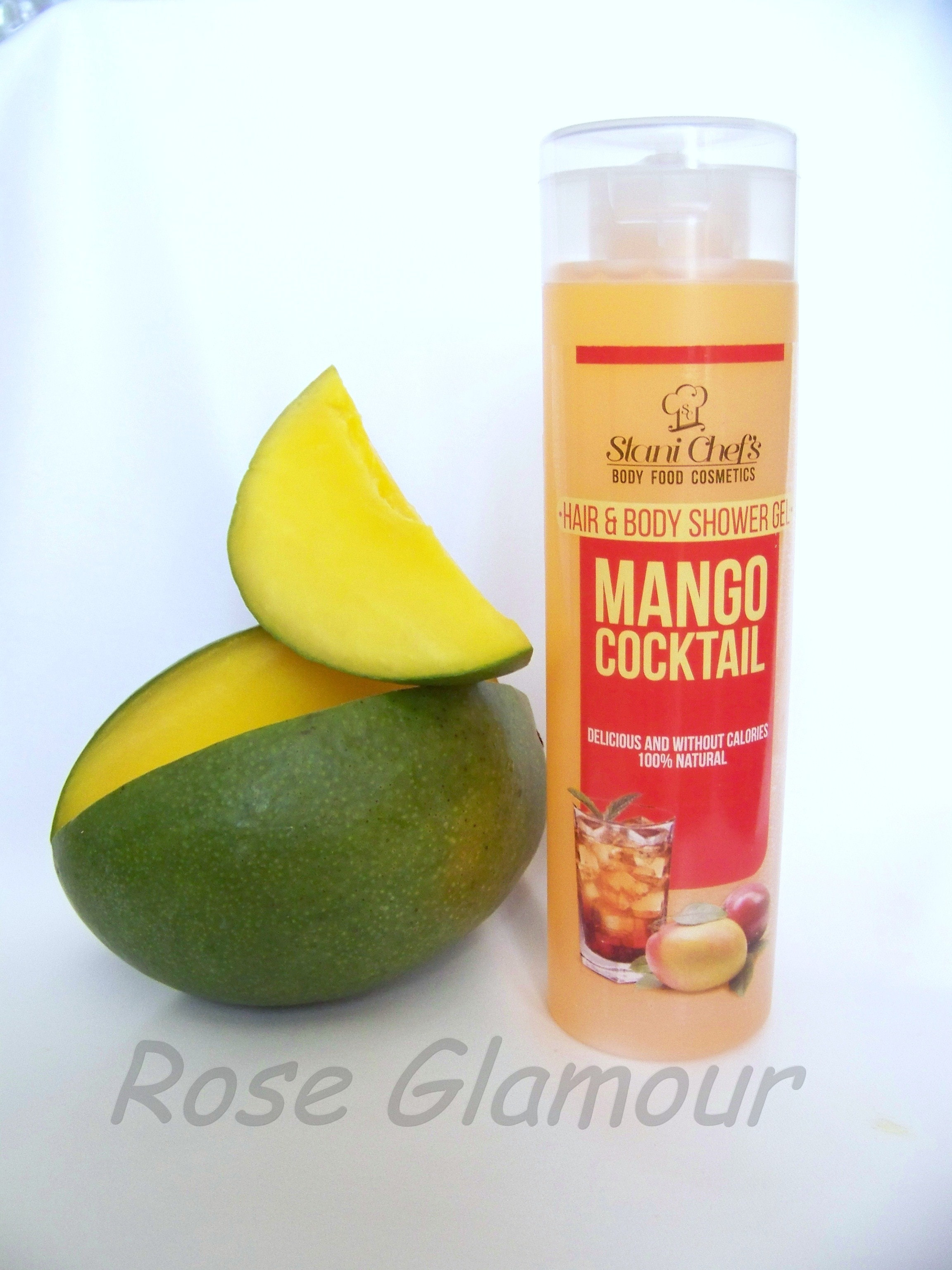 gel douche corps et cheveux aux extraits de mangue 100 naturel 250 ml roseglamour. Black Bedroom Furniture Sets. Home Design Ideas